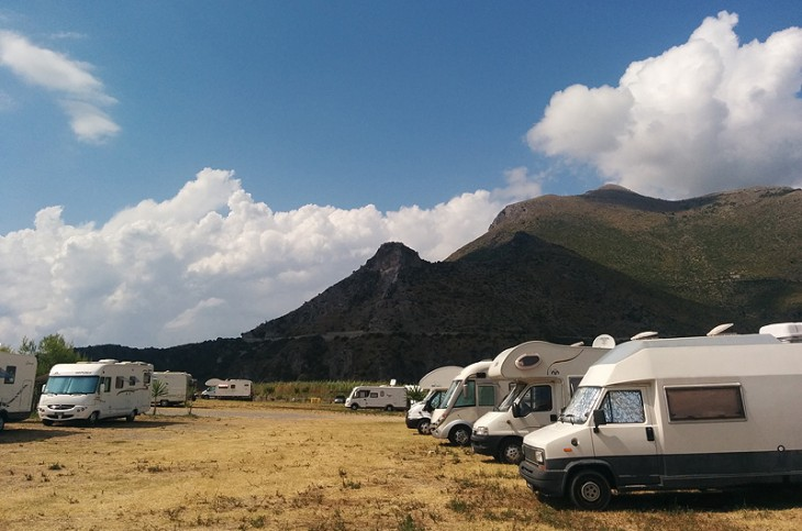 areat di sosta camper Maratea